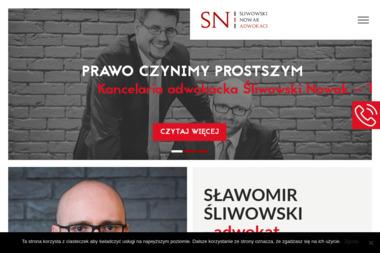 Śliwowski Nowak Adwokaci spółka partnerska - Radca prawny Sosnowiec