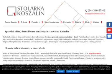 Stolarka Koszalin T.B. Komorowscy S.J. - Bramy Koszalin