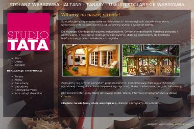 Tata Studio - Balustrady drewniane Warszawa