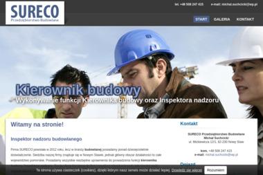 SURECO Przedsiębiorstwo Budowlane - Kierownik budowy Nowy Staw