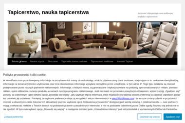 """""""Tapicer"""" - Tapicer Łódź"""