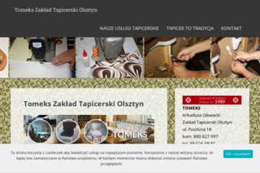 Zakład Tapicerski Tomeks - Tapicer Olsztyn