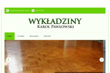 Układanie wykładzin - Karol Pawłowski - Montaż wykładzin Poznań