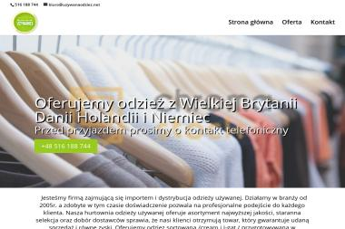 Firma Handlowo-Usługowa Borciuch Adam - Odzież używana Częstochowa