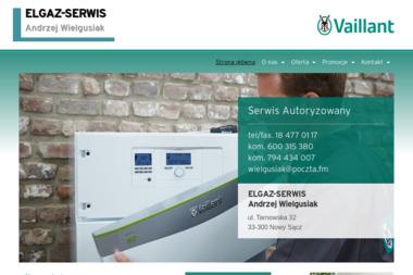 FIRMA USŁUGOWA ELGAZ-SERWIS - Instalacje gazowe Nowy Sącz