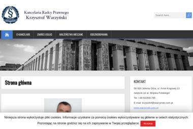 Kancelaria Radcy Prawnego Krzysztof Warzyński - Usługi Prawne Jelenia Góra