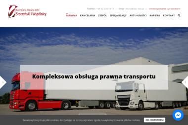 KANCELARIA PRAWNA WEC SROCZYŃSKI I WSPÓLNICY SP. K. - Usługi Prawne Łódź