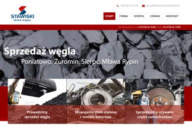 Przedsiębiorstwo Produkcyjno Handlowo Usługowe Grzegorz Stawiski - Ekogroszek Workowany Poniatowo