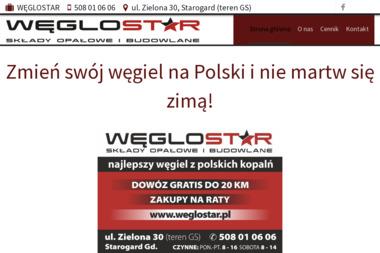 FIRMA HANDLOWO-USŁUGOWA WĘGLOSTAR - Eko-groszek Starogard Gdański