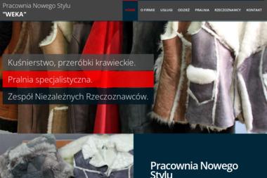 """PRACOWNIA NOWEGO STYLU """"WEKA"""" - Renowacja Odzieży Skórzanej Łódź"""