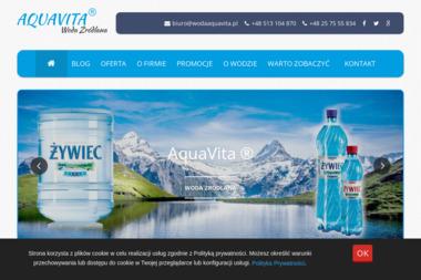 Aquavita - Dostawy wody Warszawa