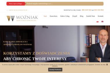 Adwokat Jarosław Woźniak - Firma Windykacyjna Gniezno