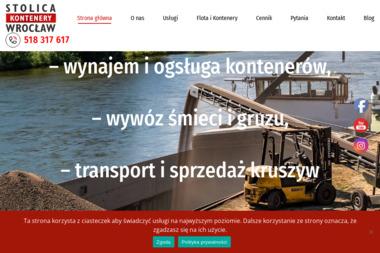 Stolica - kontenery Wrocław - Transport Gruzu Wrocław