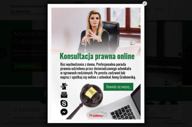 Kancelaria Adwokacka Adwokat Anna Grabowska - Sprawy procesowe Warszawa