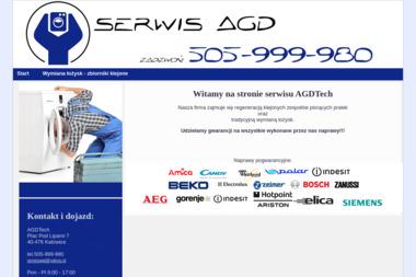 AGDTech - Naprawa drobnego sprzętu AGD Katowice