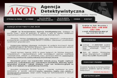 Agencja Detektywistyczna AKOR - Firma Detektywistyczna Kraków