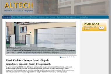 ALTECH - Bramy garażowe Kraków