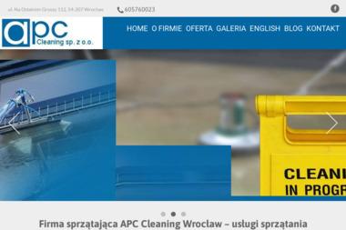 APC Cleaning Sp. z o.o. - Czyszczenie Elewacji Wrocław