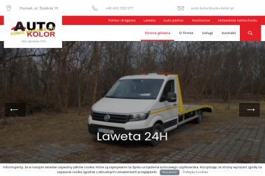 AUTO KOLOR - POMOC DROGOWA 24H - Pomoc drogowa Poznań