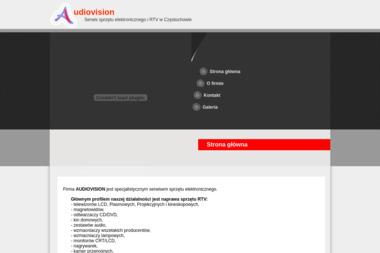 AUDIOVISION ADAM STĘPIEŃ - Naprawa sprzętu audio Częstochowa