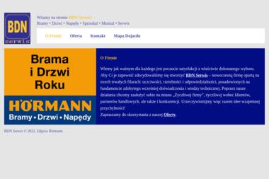 BDN Serwis Piotr Kwidziński - Bramy Wejherowo