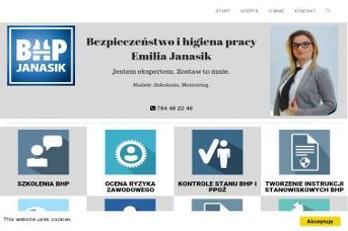 Usługi BHP i PPOŻ Emilia Jansik - BHP, ppoż, bezpieczeństwo Robakowo