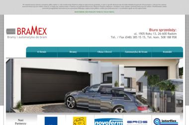 BRAMEX - Drzwi Garażowe Uchylne Radom