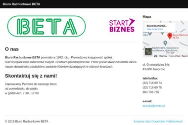 Biuro Rachunkowe BETA - Biuro rachunkowe Jaworzno
