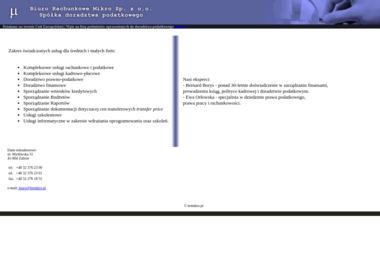 Biuro Rachunkowe Mikro Sp. z o.o. - Usługi Doradcze Zabrze