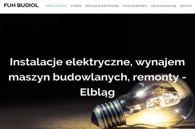 FUH Budiol Paweł Nowicki - Murowanie ścian Elbląg
