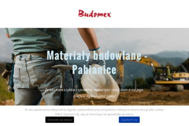 """P.P.H.U. """"Budomex"""" Roman Kłodaś - Sprzedaż Materiałów Budowlanych Pabianice"""