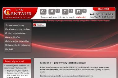 OSK CENTAUR - Kierownik budowy Świdnica