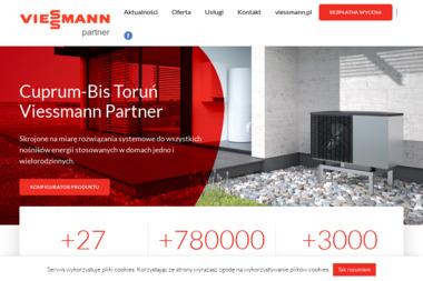CUPRUM-BIS - Kolektory słoneczne Toruń