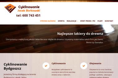 Cyklinowanie Bydgoszcz Jacek Borkowski - Cyklinowanie Bydgoszcz