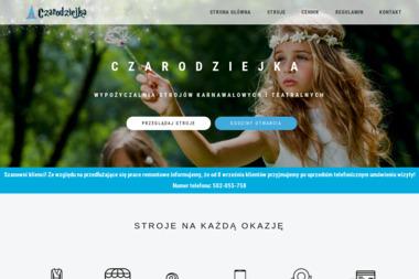 Czarodziejka - Wypożyczalnia strojów Warszawa