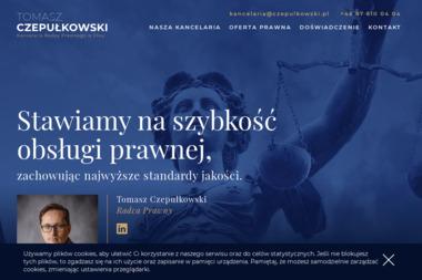 KANCELARIA RADY PRAWNWEGO TOMASZ CZEPUŁKOWSKI - Kancelaria prawna Ełk