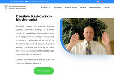 Brodnickie Centrum Medycyny Naturalnej Czesław Karkowski. Bioenergoterapia, masaż, psychoterapia - Hipnoterapia Zbiczno