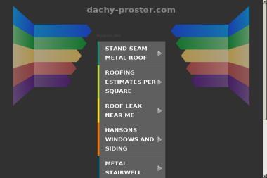 Proster - pokrycia dachowe, materiały budowlane - Pokrycia dachowe Wolin