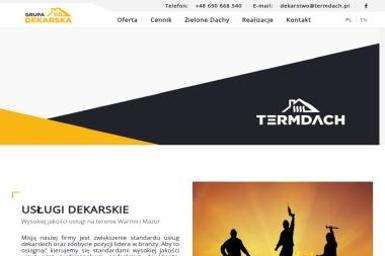 Termdach Sp. z o.o. - Konstrukcja Dachu Olsztyn
