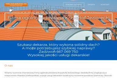Firma Ogólnobudowlana Krzysztof Jeziorecki - Dachy Psarskie