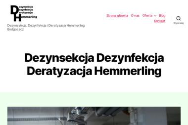 Hemmerling Jerzy Dezynsekcja, deratyzacja, dezynfekcja - Dezynsekcja i deratyzacja Bydgoszcz
