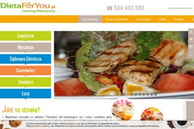 DietaForYou Catering - Firma Gastronomiczna Zawiercie