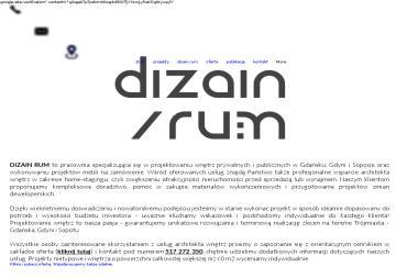 DIZAIN RUM - Aranżacje Wnętrz Gdańsk