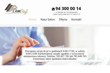 DomStyl - Bramy Ogrodowa Koszalin