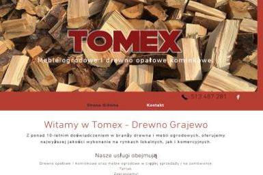 TOMEX - Drewno kominkowe Grajewo