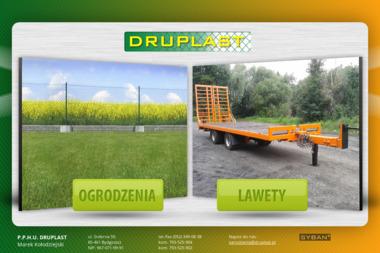 P.P.H.U. DRUPLAST - Siatka ogrodzeniowa Bydgoszcz