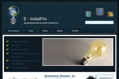 Instalatorstwo E-INSTALPRO - Montaż Kamer Ruszowice