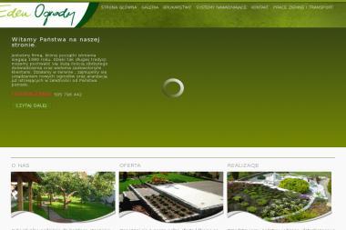 Eden - Roboty ziemne Gdynia