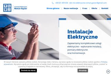 """""""GĄSIOR"""" ZAKŁAD INSTALATORSTWA ELEKTRYCZNEGO - Projektant instalacji elektrycznych Opole"""