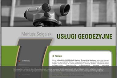 Usługi Geodezyjne Mariusz Ścigalski - Geodezja Wieliczka